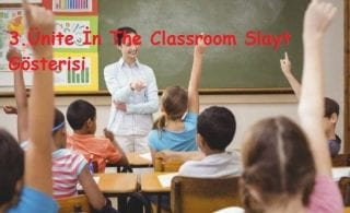 3.Ünite İn The Classroom Slayt Gösterisi
